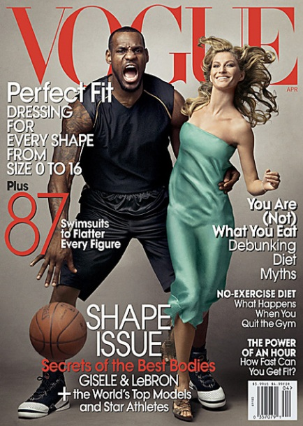 vogue lebron