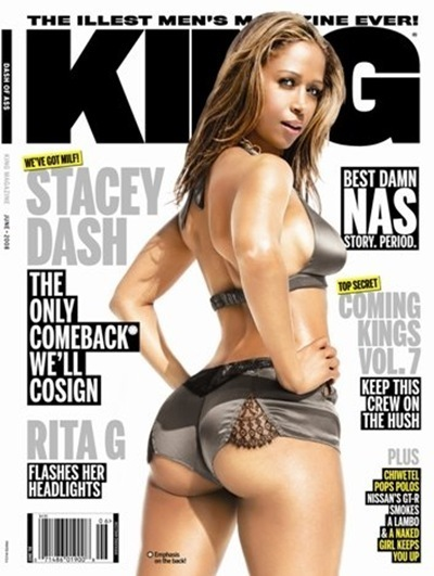 stacy dash on the cover of king