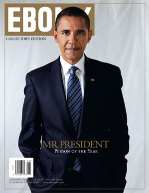 Obama Ebony magazines's person of the year